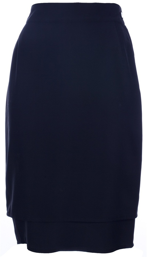 Versace Genny By Gianni Vintage Pencil Skirt