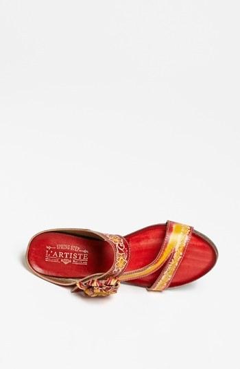 Spring Step 'Amethyst' Sandal