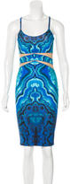 Torn By Ronny Kobo Sleeveless Psychedelic Print Dress w/ Tags
