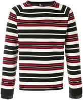 Moncler contrast stripe sweater