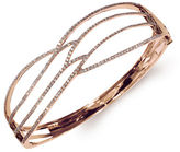 Effy 14K Rose Gold and Diamond Cutout Bangle