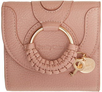 See by Chloe Pink Hana Square Wallet
