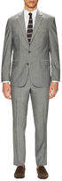 Kenneth Cole New York Wool Sharkskin Notch Lapel Suit