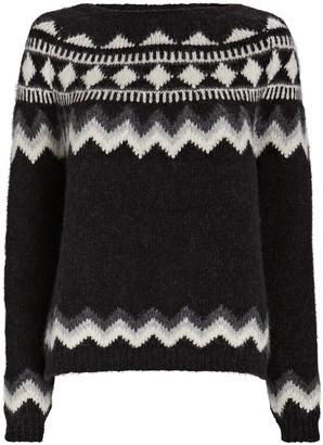 Nili Lotan Adene Fair Isle Sweater