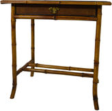 One Kings Lane Vintage 19th-C. Bamboo & Cane Desk