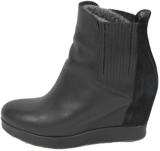 Surface to Air Black Suede Ankle boots