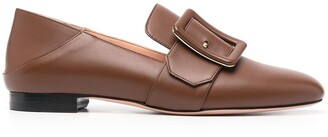 Bally Buckle-Embellished Loafers