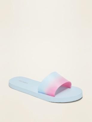 Old Navy Dip-Dye Slide Flip-Flop Sandals for Girls