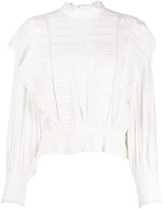 Etoile Isabel Marant ruffled neck blouse