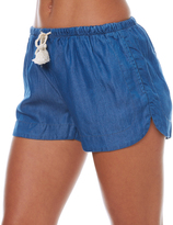 All About Eve Pistol Womens Short Blue