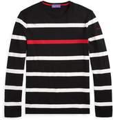 Ralph Lauren Striped Cotton Lisle T-Shirt