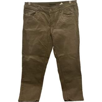 Prada Brown Cotton Jeans
