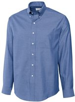 Cutter & Buck Men's Big-Tall Epic Easy Care Royal Oxford Shirt