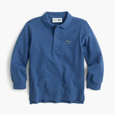 Lacoste Kids' for J.Crew long-sleeve polo shirt