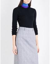 Calvin Klein Brooke Shields-patch wool-blend body