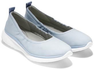 Cole Haan 3.Zerogrand Leather Ballerina Flat