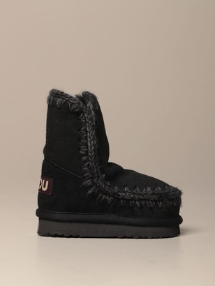 Mou Suede Eskimo Sneakers Ankle Boot
