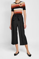 Fendi Mohair and Wool Wide-Leg Pants