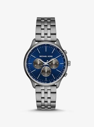 Michael Kors Sutter Gunmetal Watch