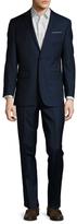 Brooks Brothers Wool Notch Lapel Suit