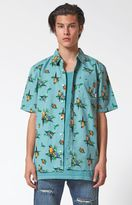 Vans Parrots Short Sleeve Button Up Shirt
