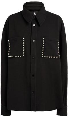 Natasha Zinko Studded-Pocket Shirt