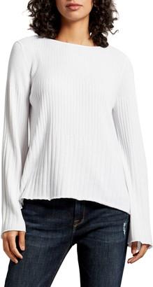 Michael Stars Madaline Boatneck Swing Pullover Sweater