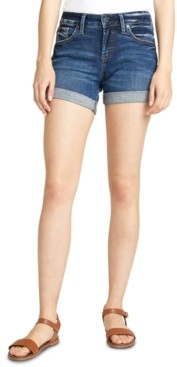 Silver Jeans Co. Denim Boyfriend Shorts