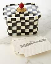 Mackenzie Childs MacKenzie-Childs Courtly Check Recipe Box