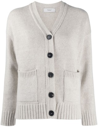 Pringle Cropped Cashmere Cardigan