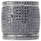 Lera Jewels Black Diamond Large Cigar Band