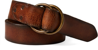 Ralph Lauren Distressed Leather Belt