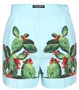Dolce & Gabbana Exclusive to mytheresa.com – printed cotton shorts