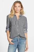 BP Junior Women's Double Layer Gingham Shirt