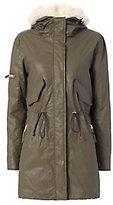 SAM. Highline Shearling Lamb Lined Army Jacket
