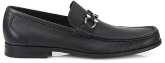 Salvatore Ferragamo Grandioso Gancini Leather Loafers
