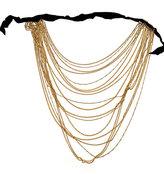Ben-Amun Multi Chain Ribbon Necklace