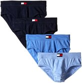 Tommy Hilfiger Men's 4-Pack Cotton Hip Briefs