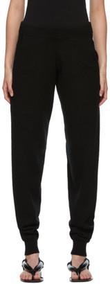 Frenckenberger Black Cashmere Hotoveli Lounge Pants