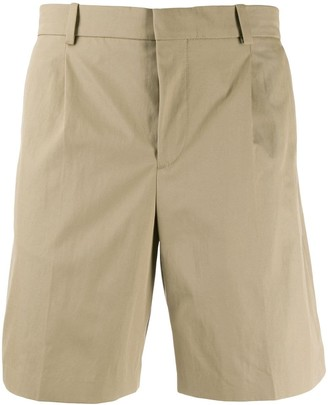 A.P.C. Pleated Chino Shorts