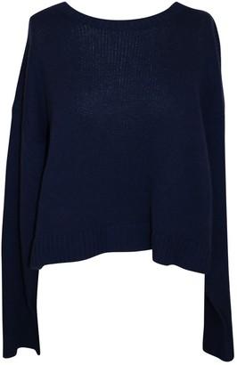 Miu Miu Navy Cotton Knitwear for Women