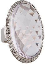 Moritz Glik Quartz and Diamond Ring