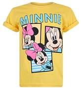 Disney Mickey Mouse - Minnie Snaps - Girls T Shirt Daisy - Lrg