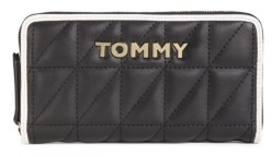 Tommy Hilfiger Quilted Emma Large Zip Around Wallet