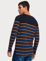 Scotch & Soda Breton Stripe T-Shirt
