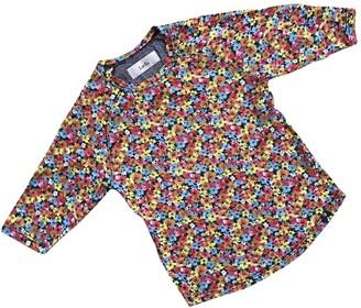 Luella Multicolour Cotton Top for Women