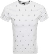Barbour Bradstone Lighthouse T Shirt White