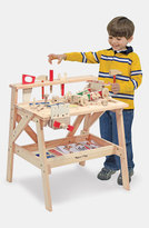 Melissa & Doug Toddler Boy's Wooden Project Workbench