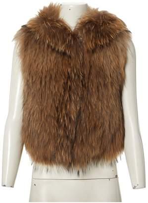 Meteo Beige Fur Jackets