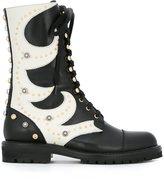 Fausto Puglisi combat boots